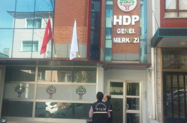 HDP Parti Genel Merkezi'ne silahlı saldırı düzenlendi.