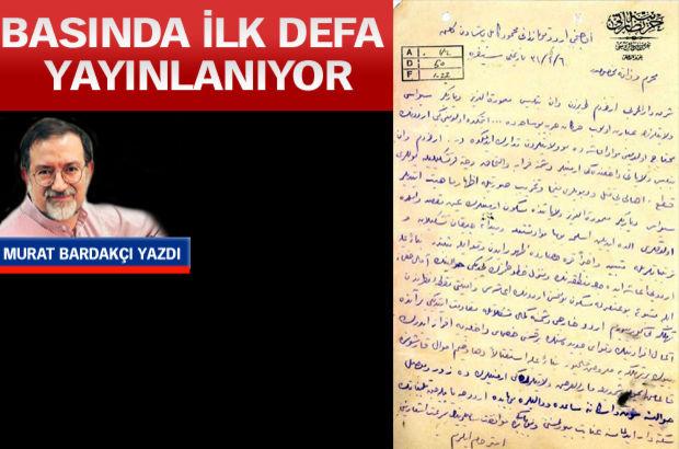tehcir uygulanması, Ermeniler, mektup, Murat Bardakçı