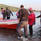 Bodrum'da kaçakları taşıyan tekne battı