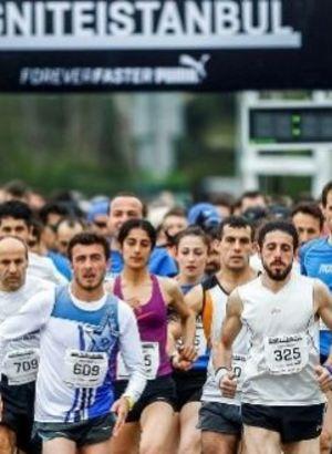 Caddebostan'da 600 kişi koştu