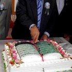 Kutlu Doğum etkinliğinde Kuran-ı Kerim'li pasta kestiler