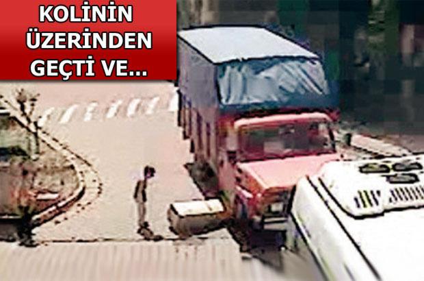 İstanbul'da güvenlikli sitede akıl almaz kaza