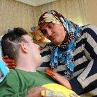 'Umut'un koruyucu annesi yüz felci oldu