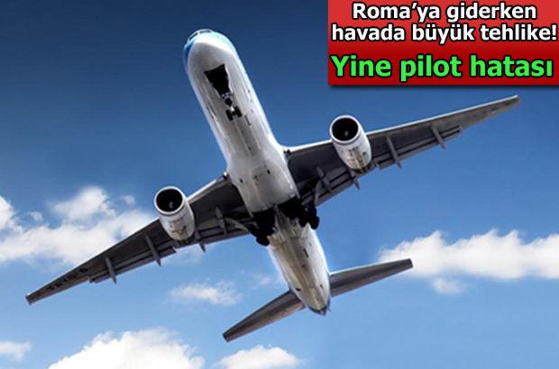 Havada büyük tehlike omislav Nikoliç'i taşıyan uçağı
