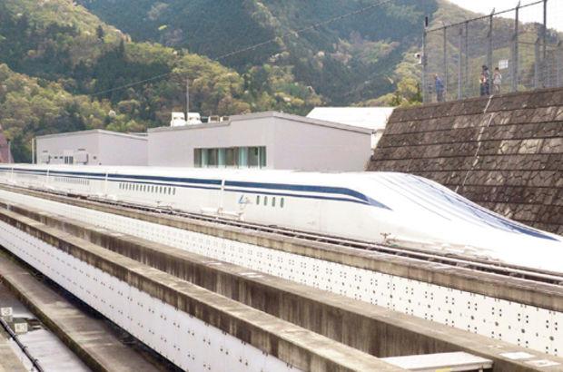 Maglev treni Central Japan Railway tarafından Yamana kentindeki manyetik levitasyon hattında yapılan denemede, saatte 603 kilometre hıza ulaştı.