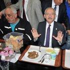 Kılıçdaroğlu Mersin'de işçilerle yemek yedi