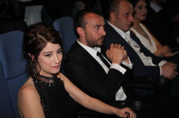 Hazal Kaya with her boyfriend Ali Atay