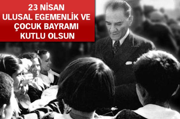 23 Nisan Ulusal Egemenlik ve Çocuk Bayramı Meclis'in 95. yaşı