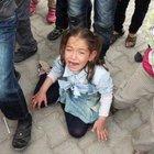 Suriyeli çocukların oyuncak izdihamı