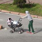 Kayseri'de bebek arabasıyla tüp taşıdılar