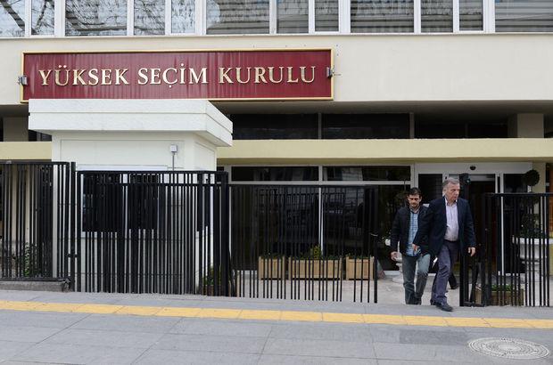25. Dönem milletvekilliği seçimleri öncesi Yüksek Seçim Kurulu kesin aday listeleri duyuruldu