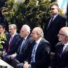 Kamalak ve Destici'den Erbakan'ın kabrine ziyaret
