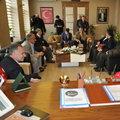 HDP'li adaylar, MHP'li belediyeyi ziyaret etti