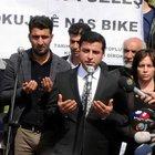 Selahattin Demirtaş: Önce cenazeyi kaldıralım