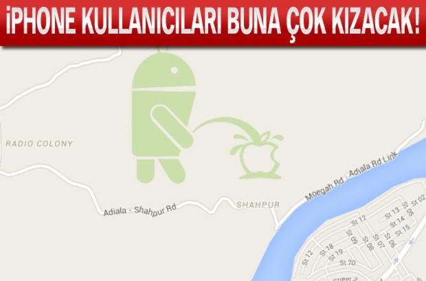 Google Maps'te şaşırtan görüntü!