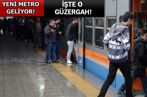 İstanbul'a yeni metro yolda!