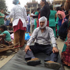 Nepal 7,9 büyüklüğündeki depremle sallandı