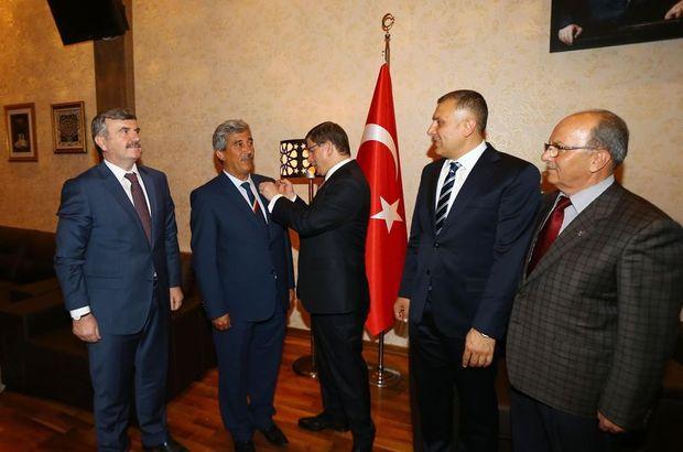 Başbakan Ahmet Davutoğlu MHP  Ekrem Tulukçu