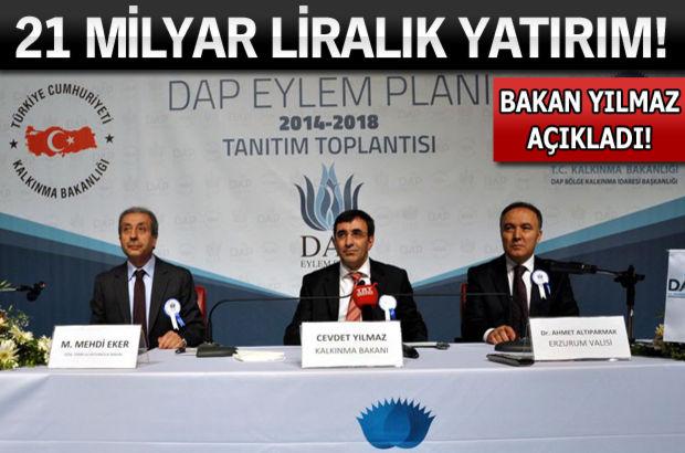 DAP Eylem Planı açıklandı!