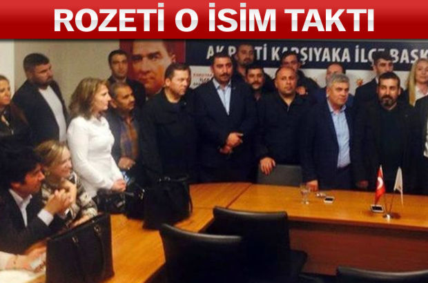 CHP adayı Ak Parti'ye geçti...