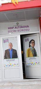 HDP Yalova seçim bürosuna gece yarısı silahlı saldırı!