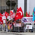 North American Turks protest at Armenian claims