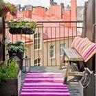 Küçük balkonlarınıza ufak dokunuşlarla renk verin