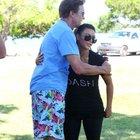 Kim Kardashian babasına sahip çıktı