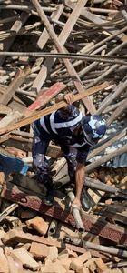 Nepal'de ölü sayısı 3 bin 400'ü aştı: Çığın düşme anı kamerada