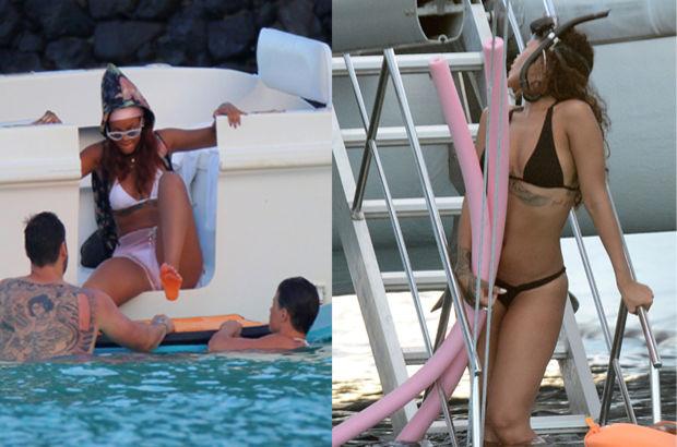 Rihanna'nın deniz fobisi