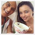 Miranda'dan yocacıyla selfie