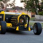 20 yaşındaki Raul Oaida Lego'dan araba yaptı!