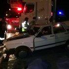 Hatay'da TIR ile otomobil çarpıştı: 2 kişi öldü, 2 kişi yaralandı