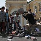 Afganistan'da linç protestosu!
