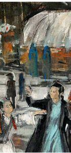"""Ressam Refik Doğu Özgün, ikinci kişisel sergisi """"Palimpsest Hafıza""""da Dante ile dans ediyor"""