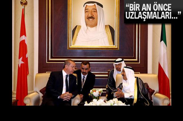 Kuveyt'ten Mısır ve Türkiye'ye flaş çağrı