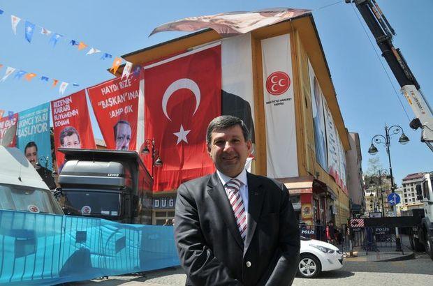 MHP adayından Ak Parti'ye imalı teşekkür