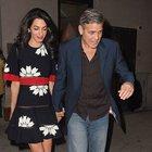 George Clooney ve Amal Alamuddin'in aile yemeği
