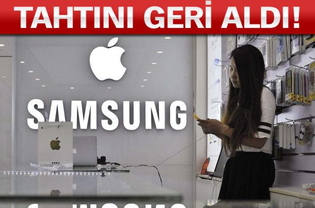 Samsung, Apple, 2015, pazar payı