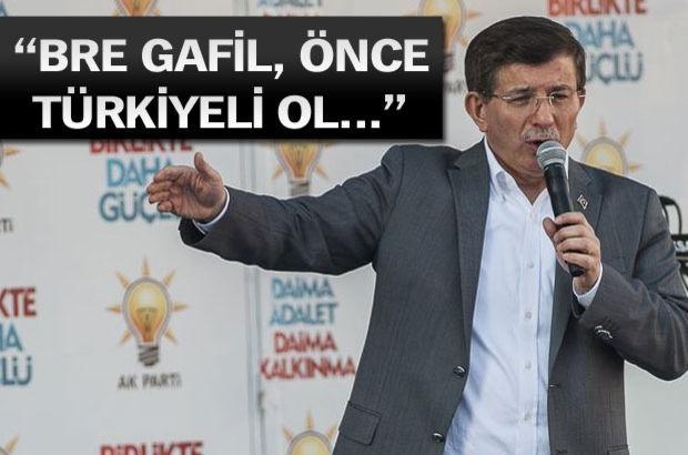 Ahmet Davutoğlu, Ak Parti'nin Aksaray mitinginde konuşuyor