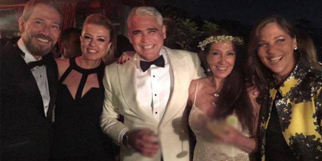 Nermin Bezmen-Tolga Savacı çifti evlendi