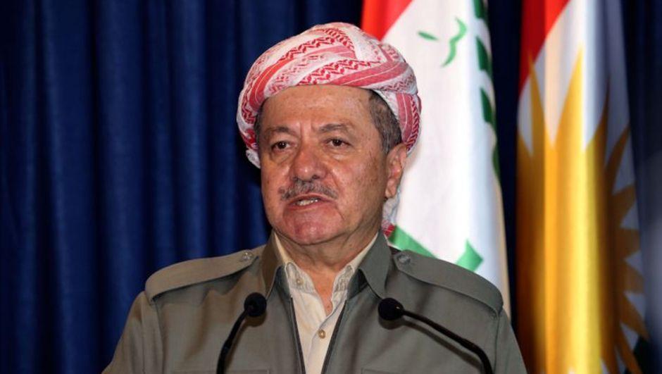Irak Kürt Bölgesel Yönetimi Başkanı Mesud Barzani