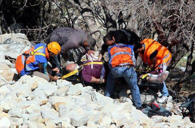 fethiye ıraklı paraşütçü kayalıklara düştü  Omar Al Tekreeti