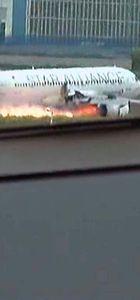 Motoru yanan THY uçağı hizmetten çıkarıldı