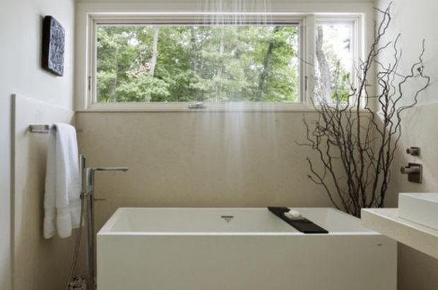 Evinizde böyle bir duş olsa…