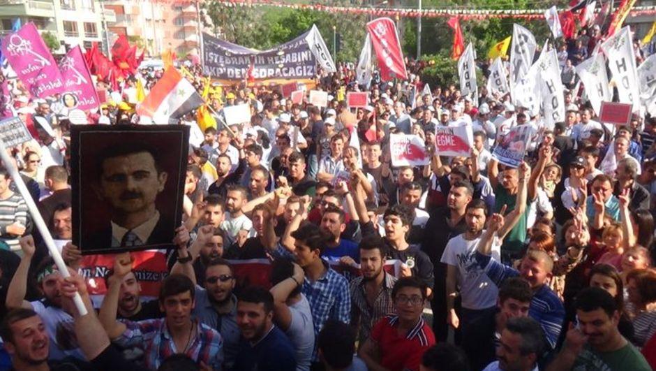 Hatay, 1 Mayıs, Beşar Esad