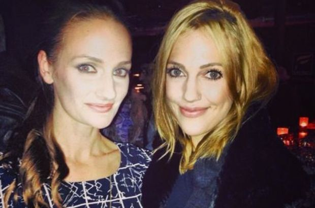 Photo of Meryem Uzerli & her Sister  Canan Uzerli