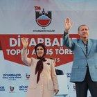 Cumhurbaşkanı Erdoğan'dan Diyarbakır'da flaş açıklamalar