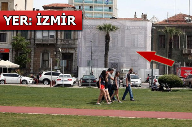 İzmir'deki Yunanistan Başkonsolosluğu binası Çipras hükümetinin talimatıyla restore ediliyor