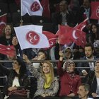 MHP Genel Başkanı Devlet Bahçeli partisinin seçim beyannamesini açıklıyor